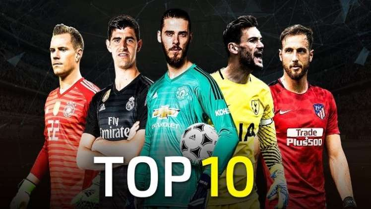 Top five best goalkeepers for the 20192020 season