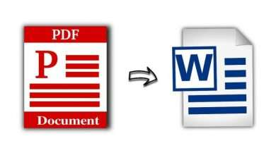 Want to convert pdf file into word document Here are the various steps you need to take