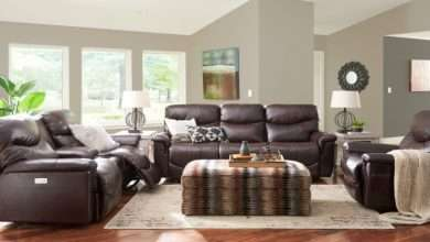 arrange reclining furniture