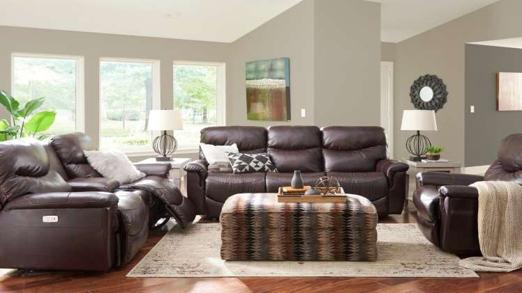 arrange reclining furniture