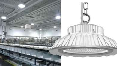 LED high bay lights best fixtures for industries and warehouses