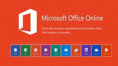 Microsoft Office Online with all office products