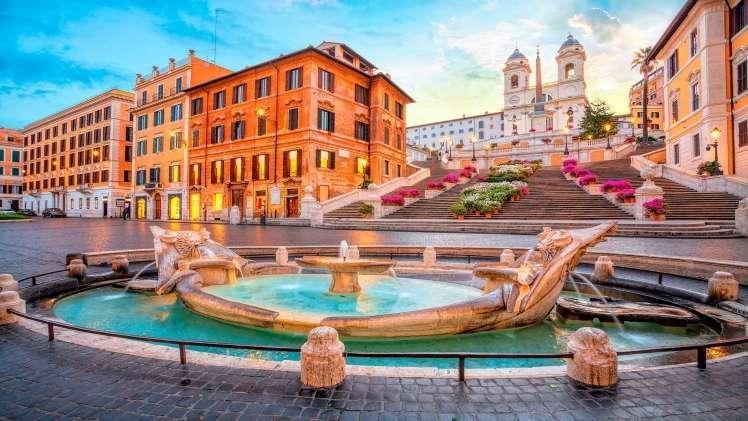 Piazza de Spagna Rome 1