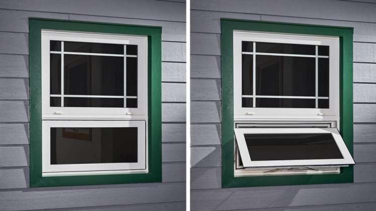 Awning windows vs casement windows. Whats the difference