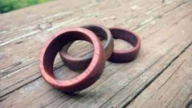 How to Make Wooden Wedding Bands for Men