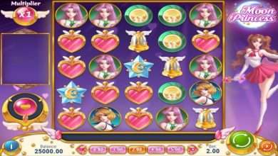 Moon Princess Free casino Slots game in Japan