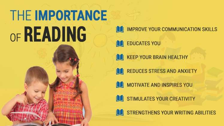 What is the importance of reading books