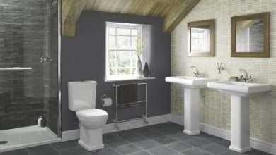 bathroom space design layout