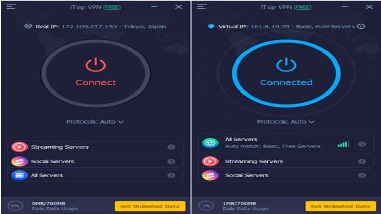 iTop VPN Secure Your Internet With Military grade Protection 1