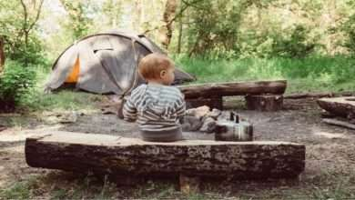 Camping in Nature An Experience Every Kid Must Have