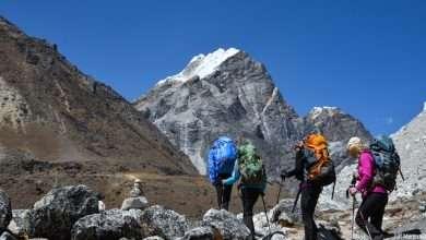 Our trek towards Lobuche
