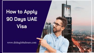 How to Apply 90 Days UAE Visa