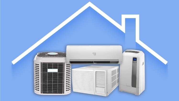 The difference between split air and ducted air conditioners
