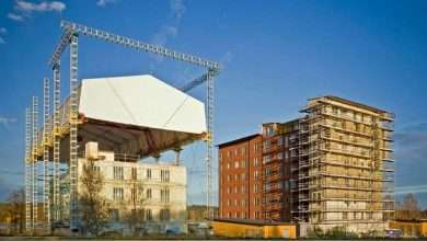 What is temporary protection in construction