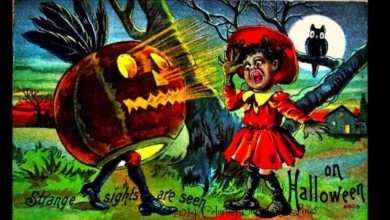 Old Fashioned Try These 3 Traditional Antique Halloween Postcards Ideas