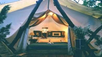 Who must consider glamping as a traveling option